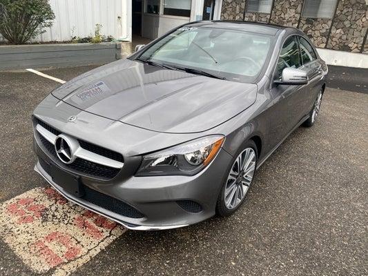 2018 Mercedes-Benz CLA 250 4MATIC® - Mercedes-Benz dealer ...